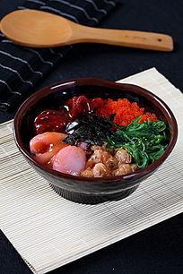 海苔章鱼海草蟹子锅