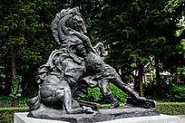 抗日战争雕