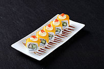 芒果芝士蟹子寿司