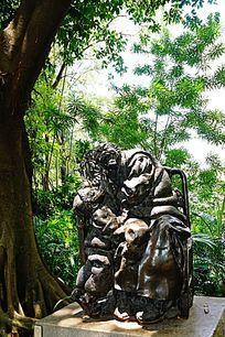 艺术石雕像