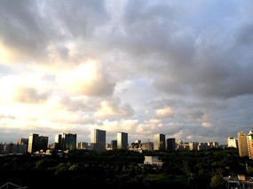城市高楼建筑群