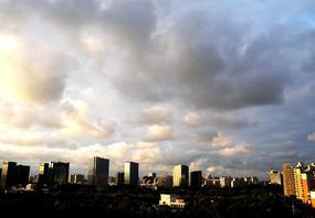 城市建筑远眺
