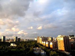 城市居民住宅楼群