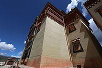 寺庙建筑墙