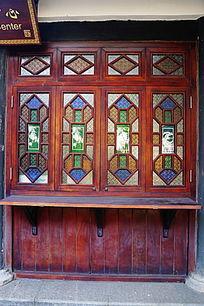 传统花式木门