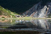 湖面风光风景
