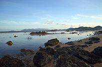 美丽的沙滩海湾风光图片
