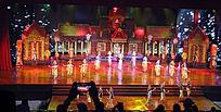 泰国东巴乐园民族歌舞表演