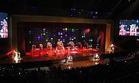 泰国东巴乐园民族击鼓表演