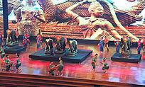 泰国东巴乐园民族文化表演