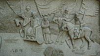 八卦碑人物壁画
