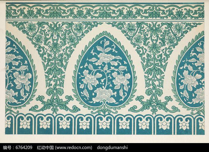 传统纹样花卉纹饰图片