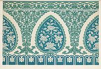 传统纹样花卉纹饰