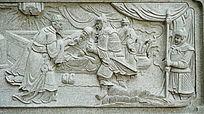 古代神医人物壁画