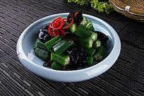 中国菜秋葵黑木耳