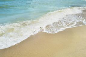 大海海浪沙滩美景图片