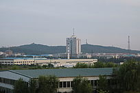 龙首山广播大厦城市