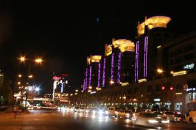 夜景灯光街道