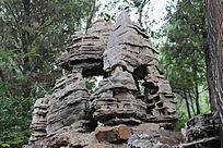 石刻之假山