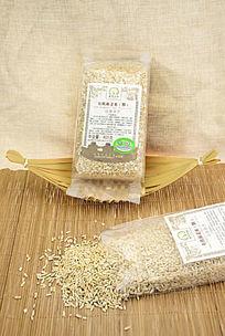 燕麦米包装图