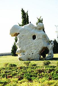 孔形太湖石