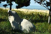 熊形太湖石