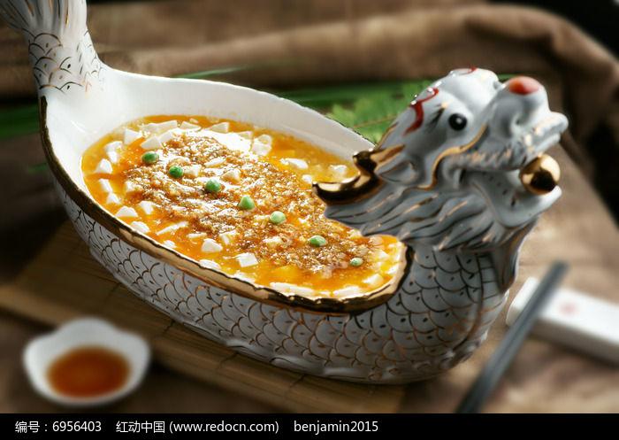 龙舟蟹粉豆腐图片