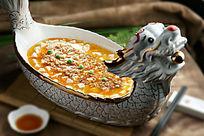龙舟蟹粉豆腐