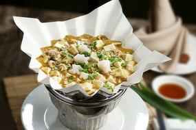 虾仁蟹粉豆腐