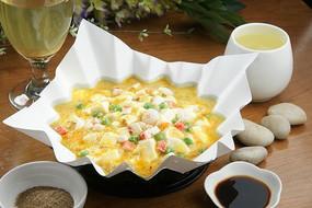 蟹粉酿豆腐