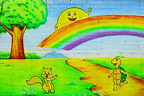 幼儿园墙画
