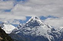 高高的雪山