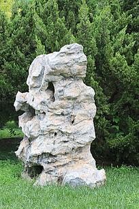 公园太湖石