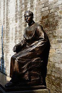 广东画家雕像