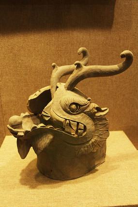 南汉时期龙首形垂兽