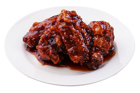 炸鸡翅酱油味