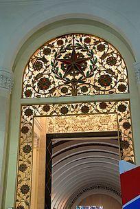 展览馆门饰
