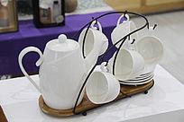精品白瓷茶具