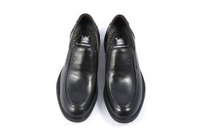 男款黑色牛皮鞋