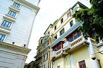 欧式建筑物