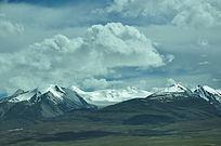 让人陶醉的美丽雪山景色
