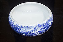 青花陶瓷罐