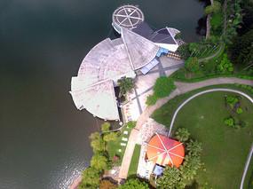 厦门湖里公园俯视图