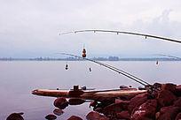 西昌琼海特色垂钓方式美丽风景