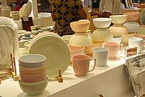 彩色陶瓷展品