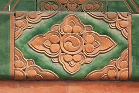古典图案菱形背景