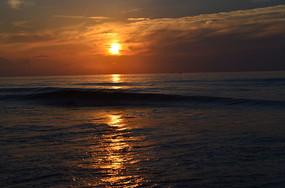 海上朝阳日出