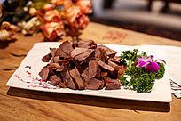 凉拌酱牛肉高清图片