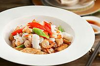 荔浦芋头烩海鲜