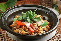 砂锅焗鱼扣
